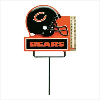 #38912 NFL Thermometer Garden Stake - Chicago Bears