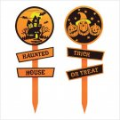 #38929 Halloween Garden Stake Set
