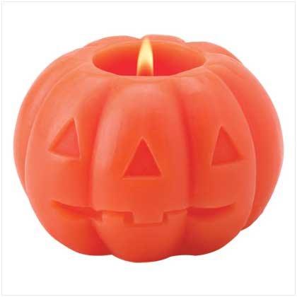 #12039 Jolly Jack O'lantern Candle