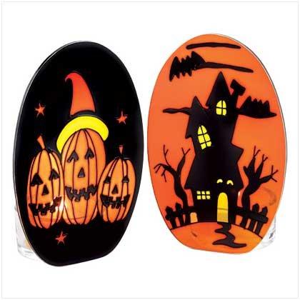#38930 Halloween Tealight Holder Set