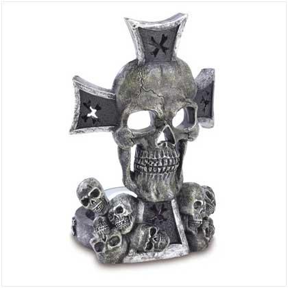 #38695 Skull Tealight Holder