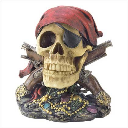 #39270 Jolly Roger Pirate Skull