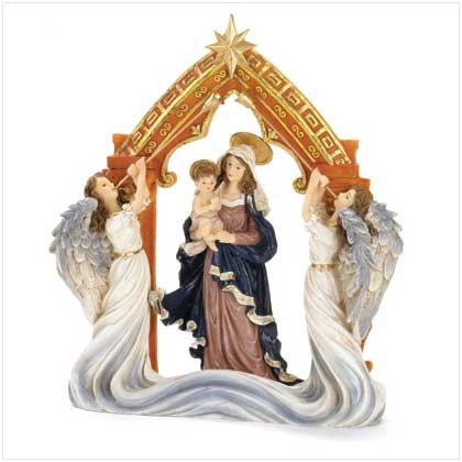 #37149 Virgin Mary with Angels