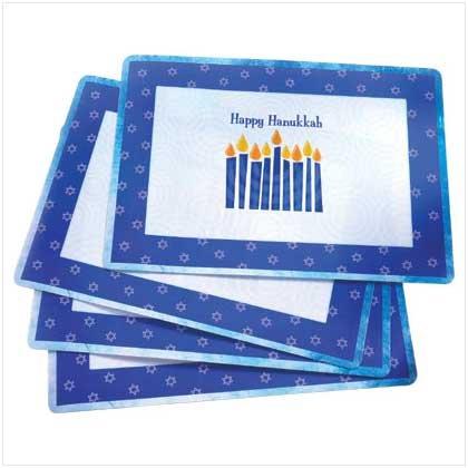 #37682 Happy Hanukkah Placemat