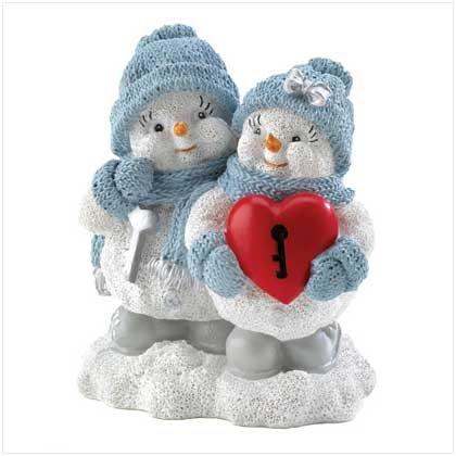#12084 Snow Buddies Key To My Heart