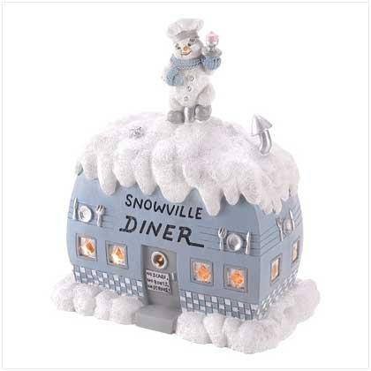 #39319 Snowbuddies Light-Up Diner