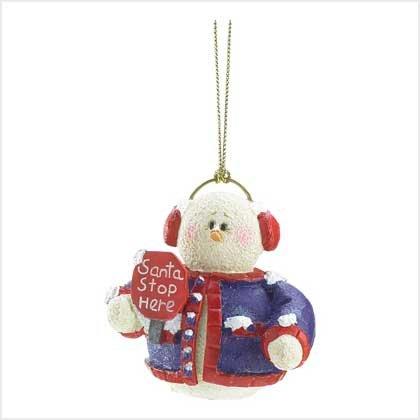 "#39306 Snowberry Cuties ""Santa Stop Here"""