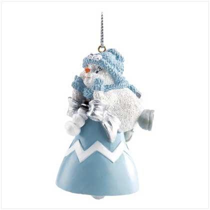 #12099 Snowbuddies Powder Puff Ornament