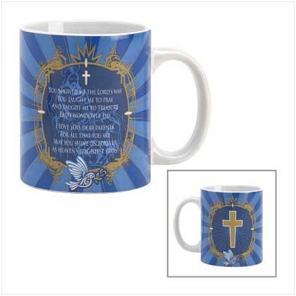 #39417 Prayer For Parents Mug