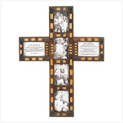 #12248 Cross Collage Photo Frame