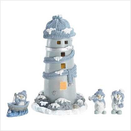 #39321 Snowbuddies Lighthouse