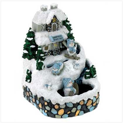 #12096 Snowbuddies Musical Fountain