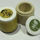 Vintage Snoopy & Lucy Thermos Jars - Set of 2