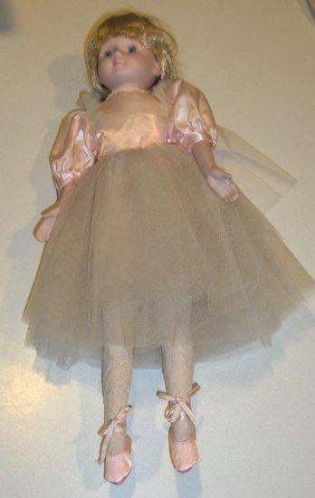 1989 House of Lloyd Porcelain Ballerina Doll