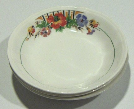Knowles Taylor & Knowles Dessert Bowl Set of 3