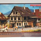Vollmer N Scale Electric Train RR Two-Story Wine Shop #7733