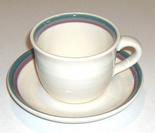 Pfaltzgraff Juniper Cup and Saucer