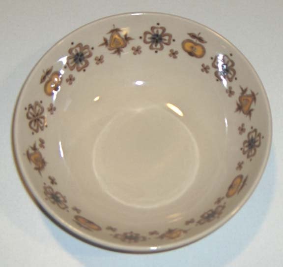 Vintage Johnson Brothers Lancaster Round Vegetable Bowl - Staffordshire Old Granite