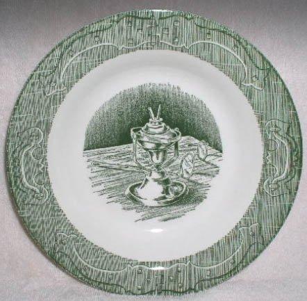 Royal USA Old Curiosity Shop Soup Bowl Set of 3