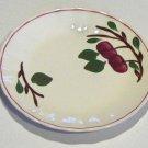 "Vintage Blue Ridge Southern Potteries Mountain Crab Salad Plate - 7 1/8"" Set of 7"