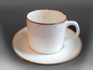Vintage J & G Meakin Lifestyle Cups & Saucers Set of 2