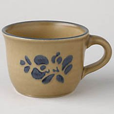 Vintage PfALTZGRAFF Folk Art Cup - Set of 2