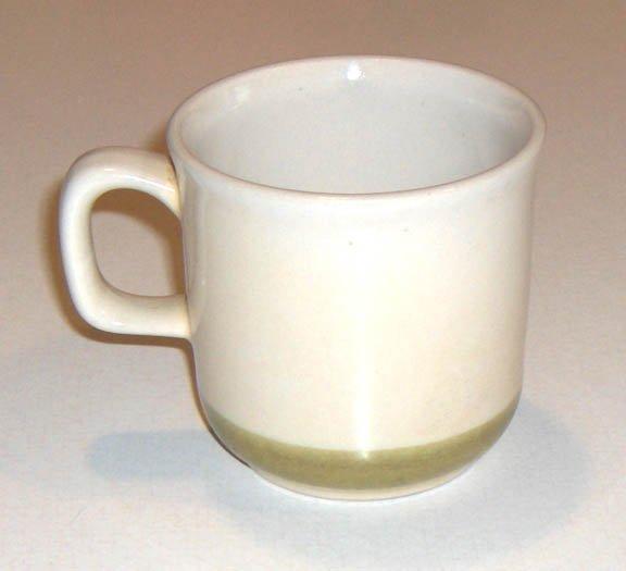 Vintage Wild Flower Stoneware Cup - Japan Set of 2