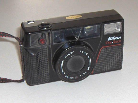 Lot of 3 Used 35mm Cameras - 1 Fuji and 2 Nikon
