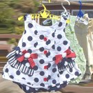 Polka Dot Dress Hanging Clothes Pin Bag by SusieQ
