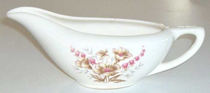 Vintage Knowles KNO620 Creamer - Pink Bleeding Hearts
