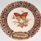 "Vintage Treasure Craft Ohio Souvenir Plate - 6"""