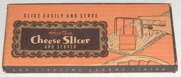Vintage Hostess Cheese Slicer and Server - Bakelite - Mid-Century