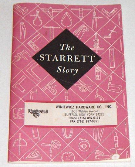 1991 Starrett Tools - The Starret Story Booklet