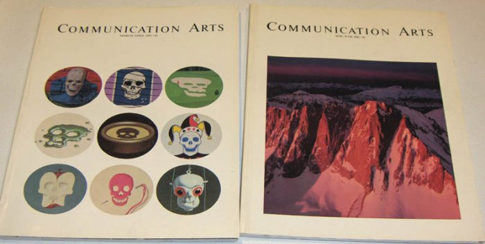 Communication Arts 1985 Vol 27 No. 1 - 8 March 1985 through Feb. 1986 - 8 issues