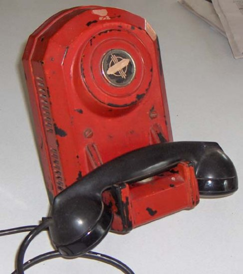 """Vintage Automatic Electric """"Jukebox"""" Telephone from Fire Hall / Station"""