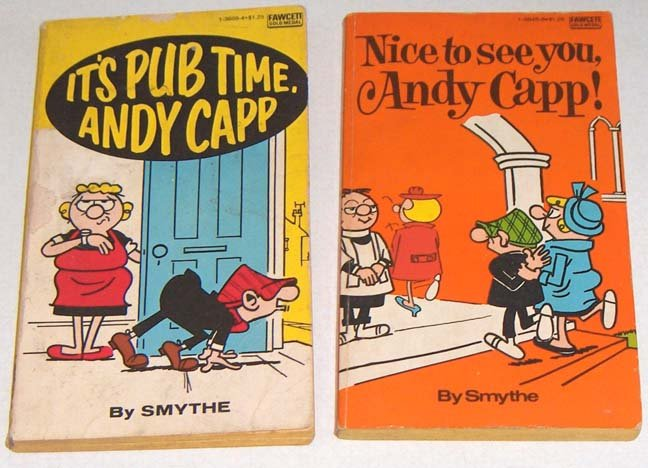 Nice to see you, Andy Capp! and It's Pub Time, Andy Capp - Vintage Paperbacks by Reginald Smythe