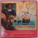 The Historic Voyage of Christopher Columbus 500 Pc. Puzzle - 1992 Milton Bradley MIB