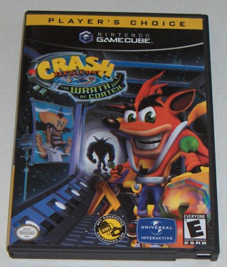 Vivendi Universal Player's Choice - Crash Bandicoot: The Wrath of Cortex for GameCube
