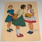 Norman Rockwell Vintage Prints - Set of 3 Printed 1972 Curtis Publishing