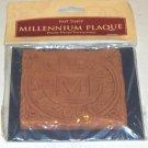 New Millennium Tile 2000 - The Millennium Plaque - Handmade in England