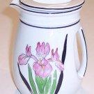 Vintage Art Deco Iris Creamer or Small Pitcher MIJ         B17