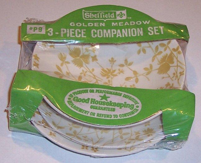 MIB - Sheffield Golden Meadow 3-Piece Companion Set