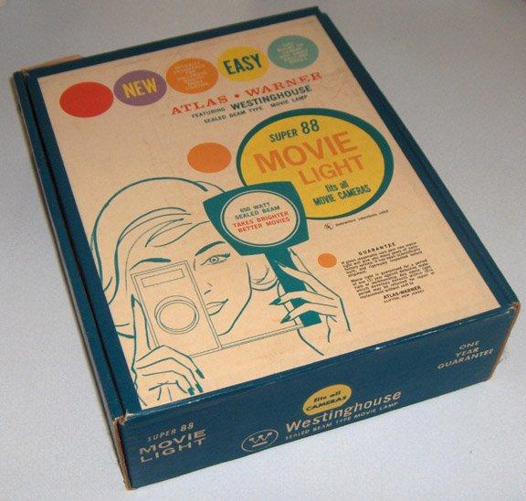 Westinghouse Super 88 Movie Light in Original Box