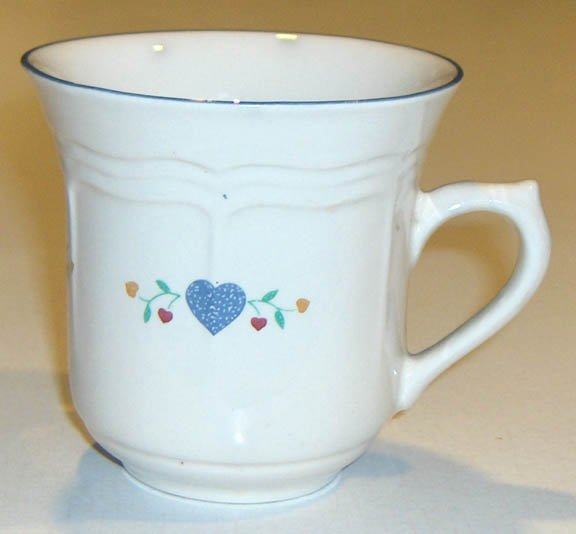 Vintage Newcor Americana Hearts Mug - Set of 3 Sale Pending