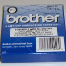 6 OEM Brother Lift-Off Correction Tapes - Model 3015 NIB