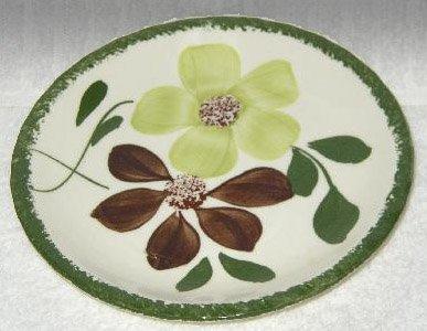 Vintage Blue Ridge Pottery Green Briar Bread & Butter Plate