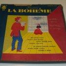 Vintage Plymouth Merit Records - Puccini La Boheme Vinyl LP Record - Boxed Set of 3