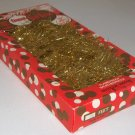 Vintage Tinsel Garland Flameproof Weatherproof - 15 Ft. Made in Italy