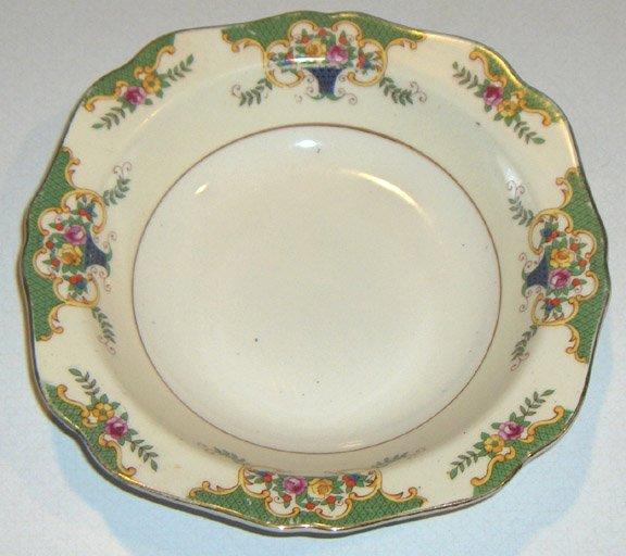 Vintage Mepoco Ware Floral Soup Bowls - Set of 4 MIJ