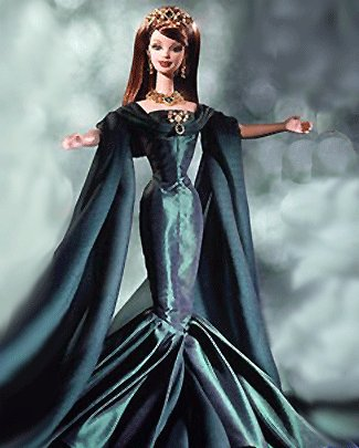 Royal Jewels Collection Empress of Emeralds Barbie - 2000 Limited Edition NRFB